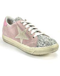 275 Central - Suede Glitter Sneaker - Lyst
