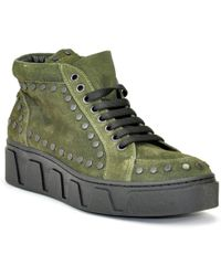 275 Central - Studded Suede Sneaker - Lyst