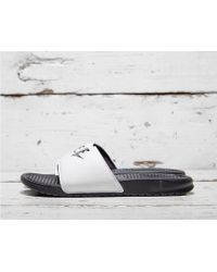 Nike - Benassi Jdi Sliders White - Lyst