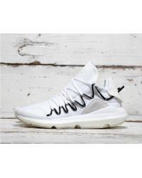 0a8d7fa40 Lyst - Y-3 Y-3 Kusari Stretch-mesh Trainers in Black for Men
