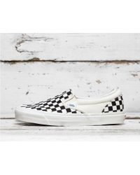da8a05b1ca Lyst - Vans Era Checkerboard Mens Sneaker in Black for Men