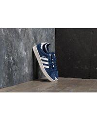 adidas Originals - Adidas Campus Dark Blue  Ftw White  Chalk White - Lyst 2682911bf