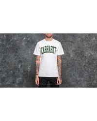 Carhartt WIP - Shortsleeve Division T-shirt White - Lyst