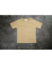 Stampd - Hillside Elongated Pocket Shirt Tee Camel - Lyst