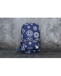 Herschel Supply Co. - Settlement Mid-volume Backpack Peacoat Paisley - Lyst