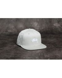 7c5d523cfa8 Stussy - Stock Sp18 Cap Grey - Lyst