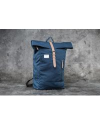 Footshop - Sandqvist Dante Backpack Blue - Lyst