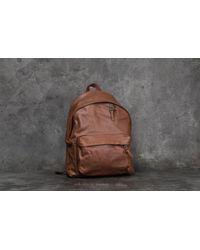 Footshop - Eastpak Padded Pak'r Backpack Brownie Leather - Lyst
