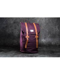 Footshop - Sandqvist Stig Backpack Plum - Lyst