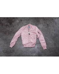 Footshop | Alpha Industries Ma-1 Vf Lw Wmn Silver Pink | Lyst