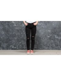 Footshop - Levi's® 710 Super Skinny Jeans Atomic Black - Lyst