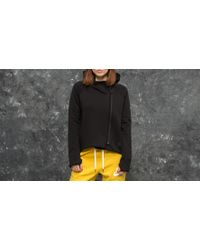 Nike - Sportswear Tech Fleece Full-zip Cape Black/ Black - Lyst