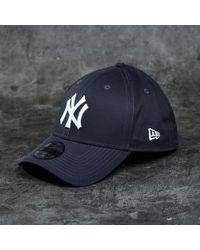 e99a50b6f5e KTZ - Cap 39thirty Major League Baseball Basic New York Yankees Navy  White  - Lyst