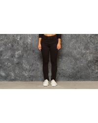 Footshop - Levi's® 721 High Rise Skinny Jeans Black Sheep - Lyst