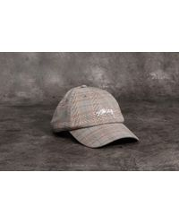 9bb027bd807 Stussy - Suiting Low Pro Cap Plaid - Lyst