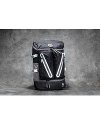 Footshop - Nixon Scripps Ii Backpack Black/ White - Lyst