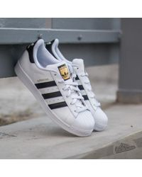 the latest 805a4 905d8 adidas Originals - Adidas Superstar Ftw White Core Black Ftw White - Lyst