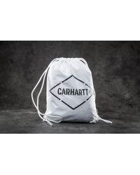 Carhartt WIP - Diamond Script Bag White/ Black - Lyst