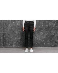 Footshop - Cheap Monday High Spray Tux Jeans Satin Black - Lyst