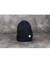 Footshop - Norse Projects Beanie Black - Lyst