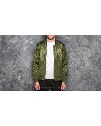 adidas Originals - Adidas Ma1 Jacket Night Cargo/ Tactile Gold Metalic - Lyst