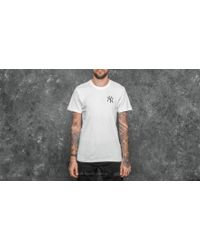 KTZ - East Coast Graphic New York Yankees Tee White - Lyst