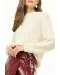 Forever 21 - Women's Fisherman Knit Jumper Sweater - Lyst