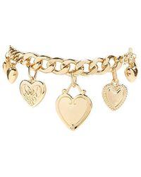Forever 21 - Heart Charm Bracelet - Lyst