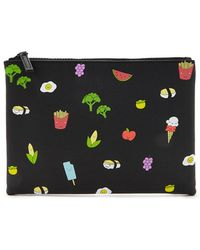 Forever 21 - Food Print Makeup Pouch - Lyst
