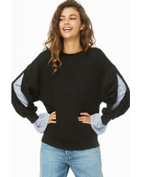 Forever 21 - Striped Combo Pullover - Lyst