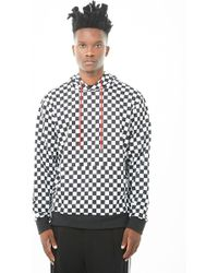 Forever 21 - 's French Terry Chequered Jumper Hoodie - Lyst