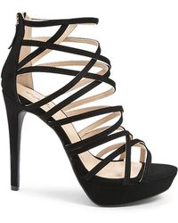 Forever 21 - Qupid Caged Stilettos - Lyst