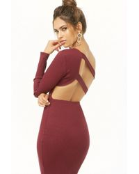 Forever 21 - Strappy Ribbed One-shoulder Dress - Lyst