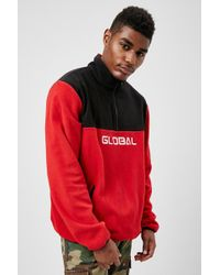 Forever 21 - Global Colorblock Pullover - Lyst