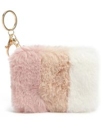 Forever 21 - Faux Fur Coin Purse - Lyst