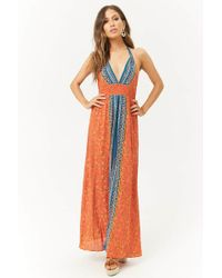 Forever 21 - Floral Maxi Dress - Lyst