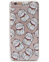 Forever 21 - Cat Graphic Case For Iphone 6/6s/7 - Lyst