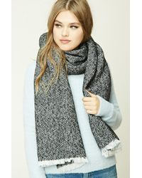 Forever 21 - Zigzag Oblong Scarf - Lyst