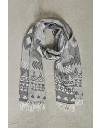 Forever 21 - Men Geo Print Woven Scarf - Lyst