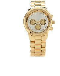 Forever 21 - Rhinestone Chronograph Watch - Lyst