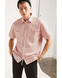 Forever 21 | Lifted Anchors Pinstripe Shirt | Lyst