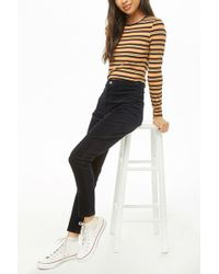 9aa9b7ad2ef2fd Forever 21 - High-Waist Cordhose - Lyst