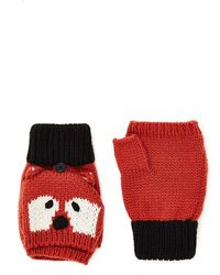 Forever 21 - Fox Graphic Convertible Mittens - Lyst