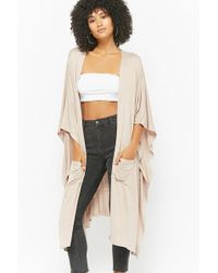 Forever 21 - Oversized Batwing-sleeve Cardigan - Lyst