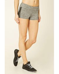 Forever 21   Active Mesh-paneled Shorts   Lyst