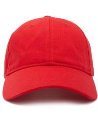 Lyst - Sombrero Rasato Borsalino de color Rojo c610a902ace