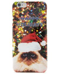Forever 21 - Holiday Cat Case For Iphone 6 - Lyst