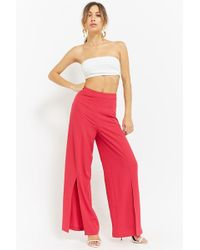 Forever 21 - Women's High-waist Palazzo Pants - Lyst