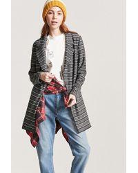 Forever 21 - Heathered Stripe Blazer - Lyst