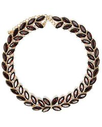 Forever 21 - Faux Stone Statement Necklace - Lyst